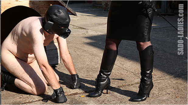 Mistress cum in shoe tgp